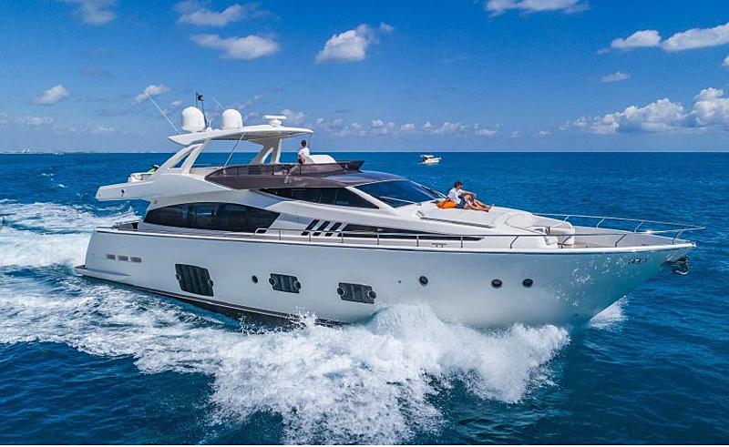 GOLDEN BELLE yacht Ferretti Yachts