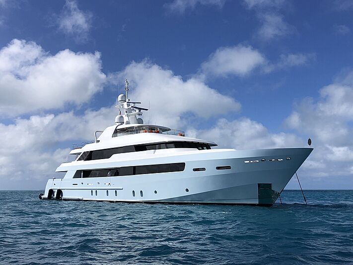 Time for Us yacht by Delta Marine in Dry Tortugas