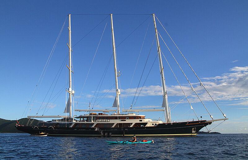 EOS yacht by Lürssen in US Virgin Islands