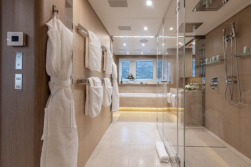 Katia yacht bathroom