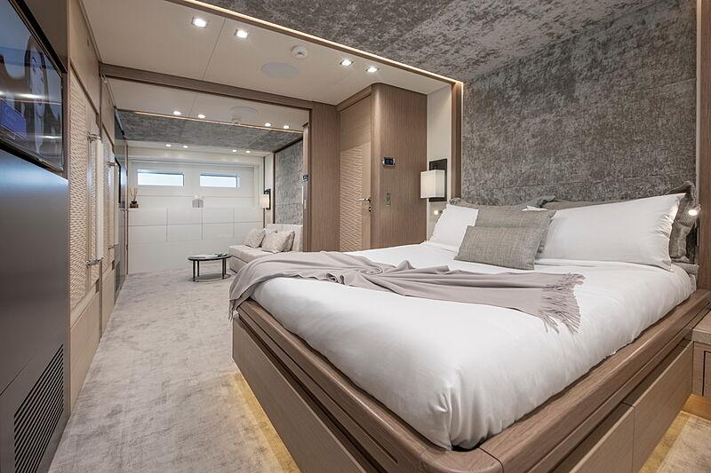 Katia yacht stateroom