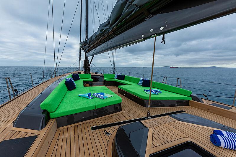 Morgana yacht deck