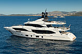 Uny yacht anchored