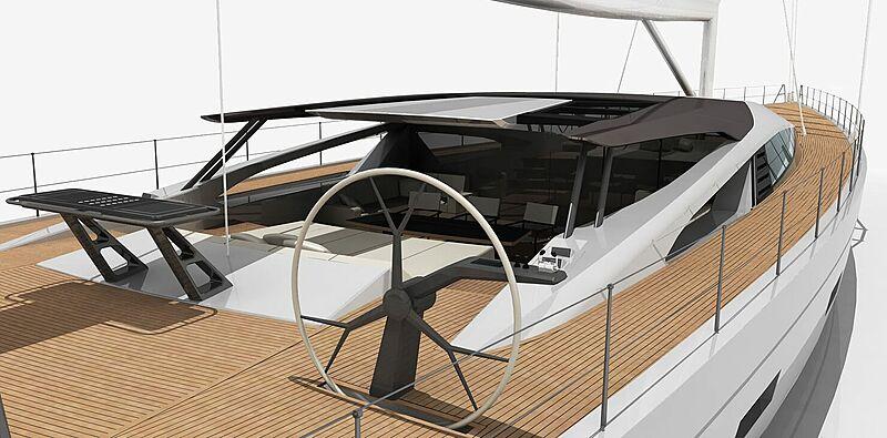 Dixon 46m exterior design