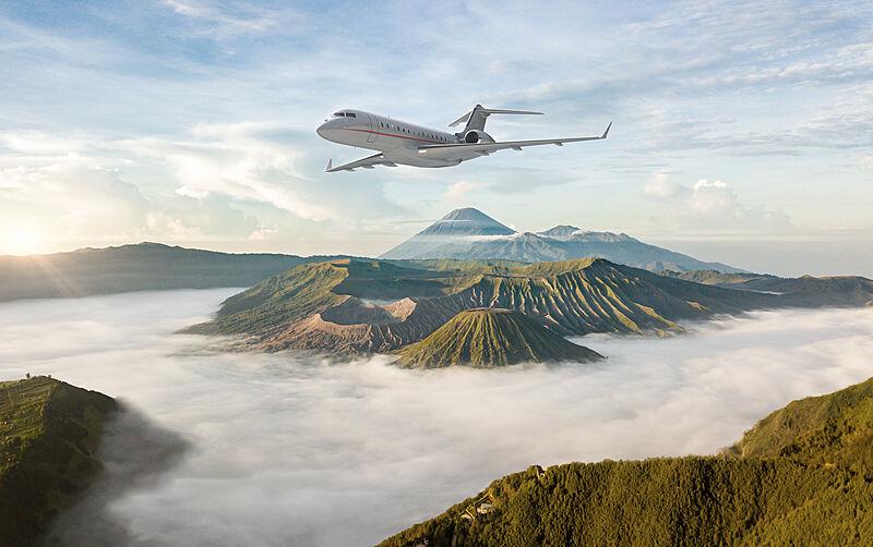 VistaJet private jet interiors