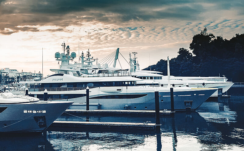 Papa yacht by Amels in Singapore