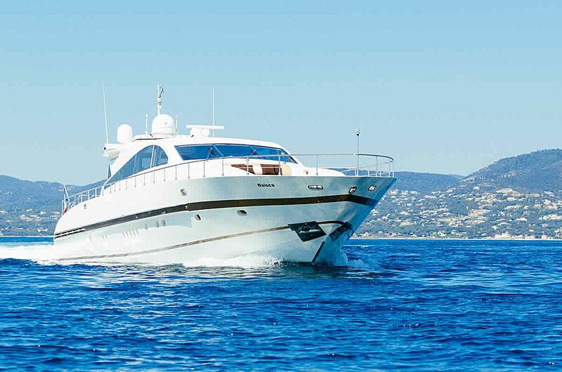 NAISCA IV  yacht Leopard