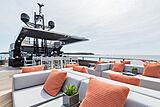Rock yacht sundeck