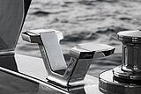 Rock yacht exterior detail