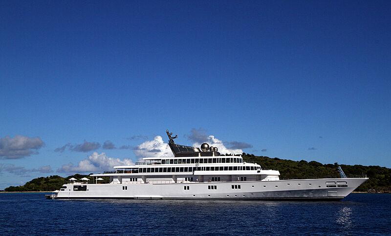 Rising Sun yacht by Lürssen in U.S. Virgin Islands