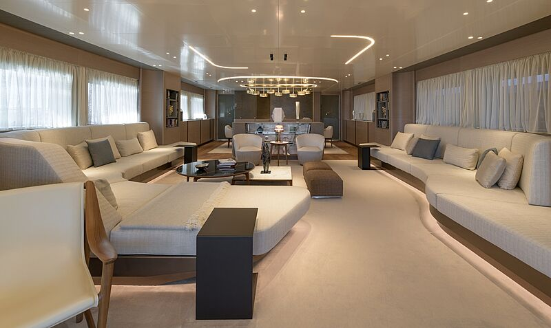 Florentia yacht saloon