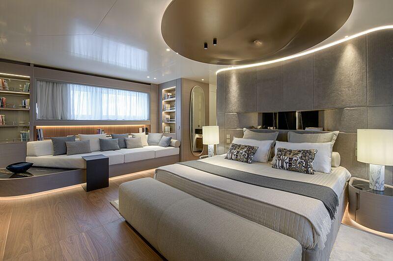 Florentia yacht stateroom