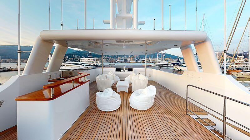 North Explorer yacht sun deck
