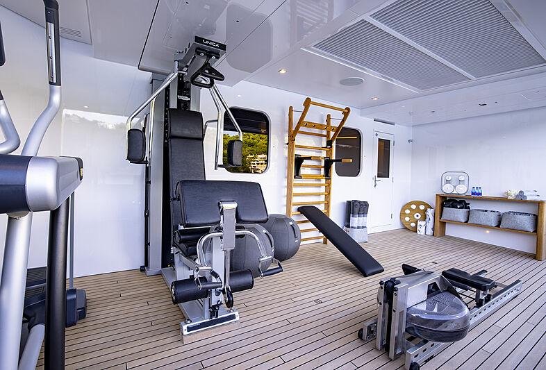 Broadwater yacht gym