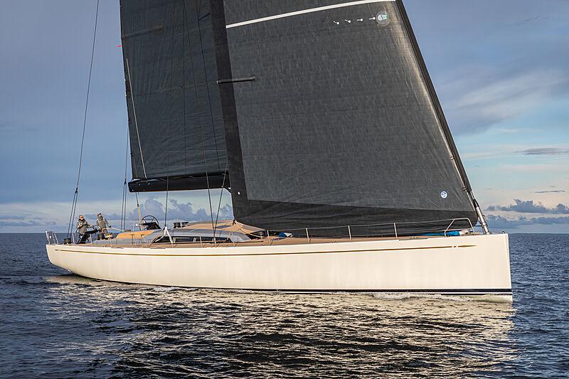 On board Nautor's Swan 31m yacht BeCool