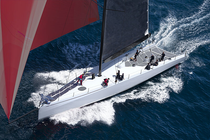 ClubSwan 80 yacht exterior design