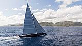 Rainbow yacht running