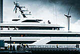 Project 816 yacht launch at Feadship