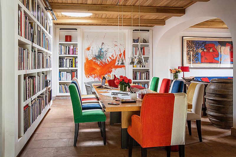Laura Sessa's studio