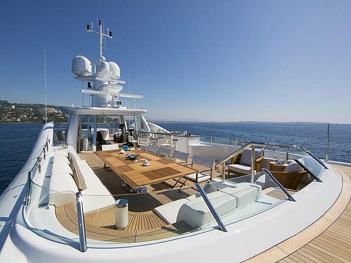 4You yacht sun deck