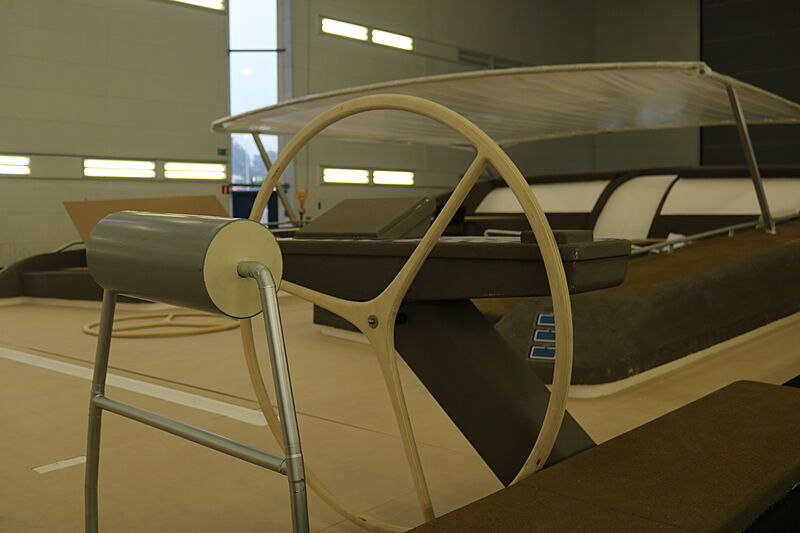 Royal Huisman Project 405 yacht mockup