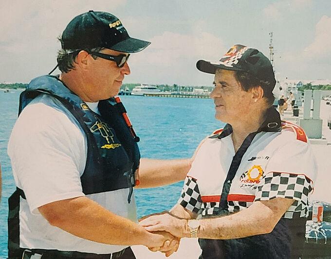 Former American powerboat champion Tim Ciasulli