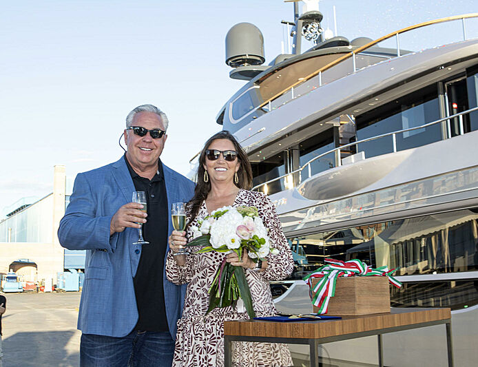 Superyacht owner Tim Ciasulli