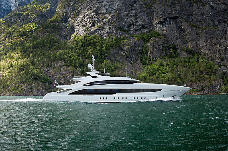 Project Oslo24 yacht rendering