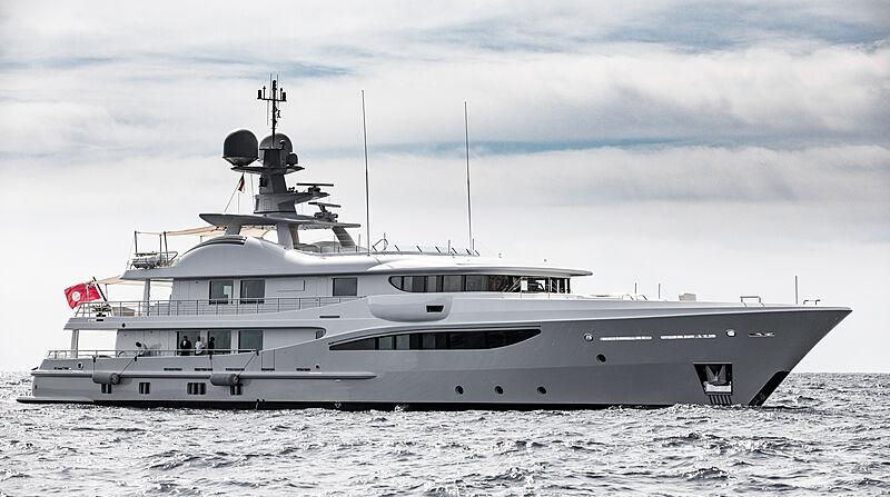 Grace yacht by Amels in Monaco