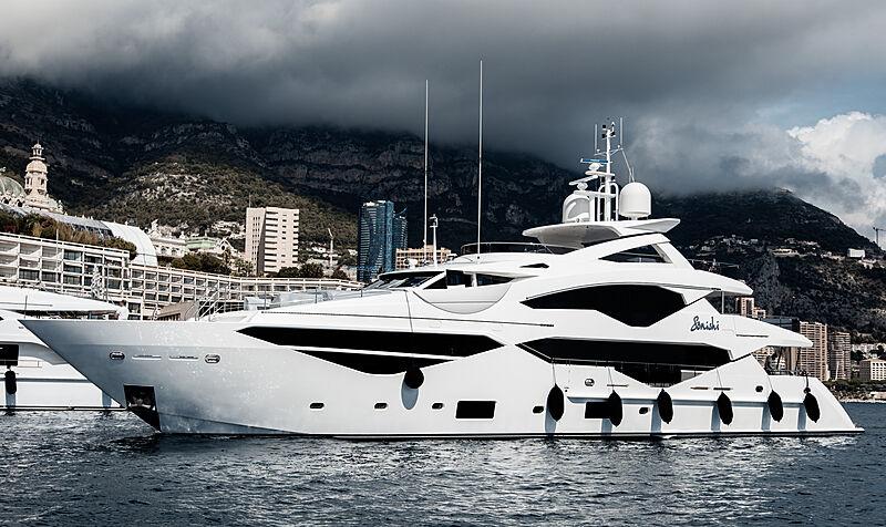 Sonishi yacht by Sunseeker in Monaco