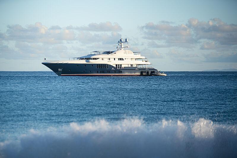 Sycara V yacht in St Barths