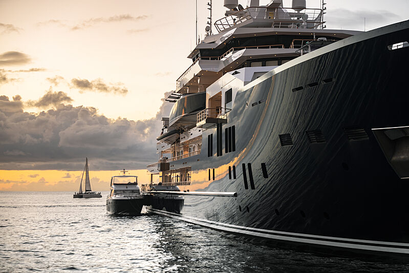 Ulysses yacht in St Barths