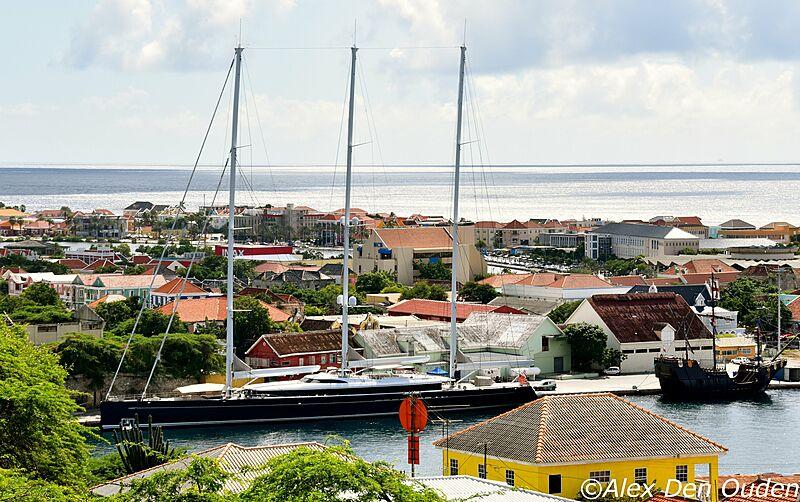 Sea Eagle II yacht by Royal Huisman in Curaçao