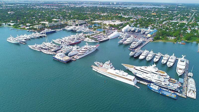 Rybovich Superyacht Marina in West Palm Beach