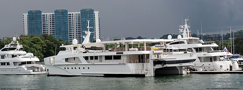 Charley yacht by Echo Yachts in Singapore