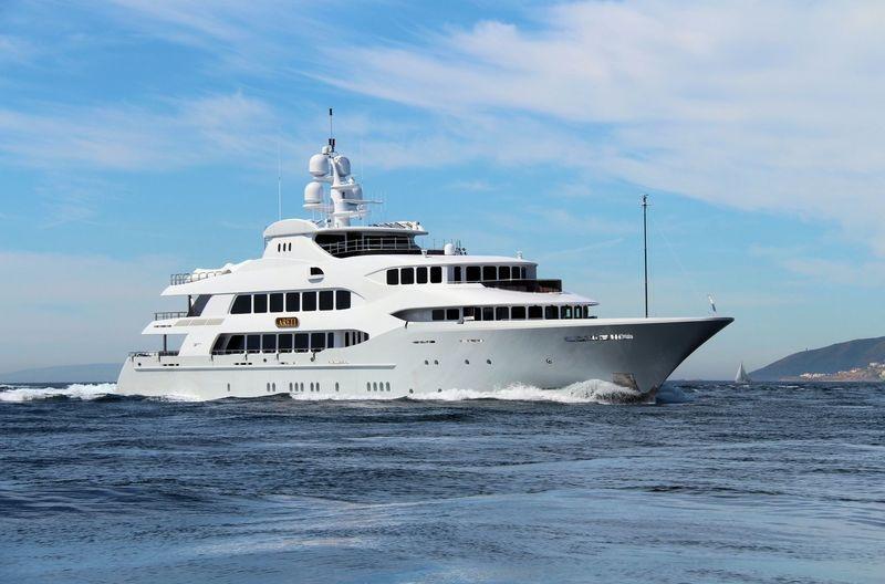 MIA ELISE II yacht Trinity