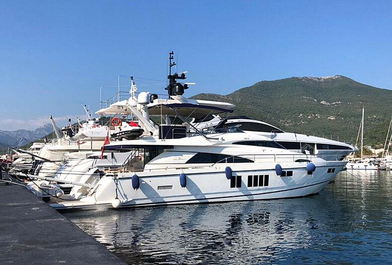 GALA yacht Fairline Boats Ltd