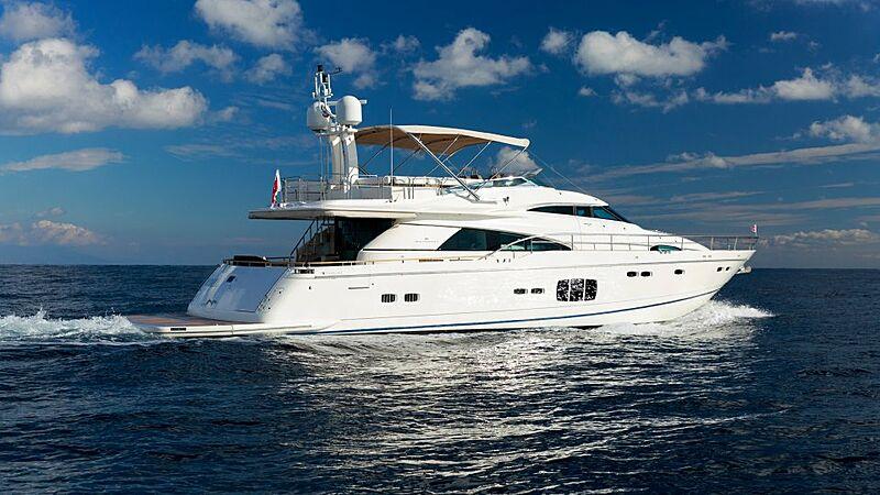 Soraya M yacht cruising