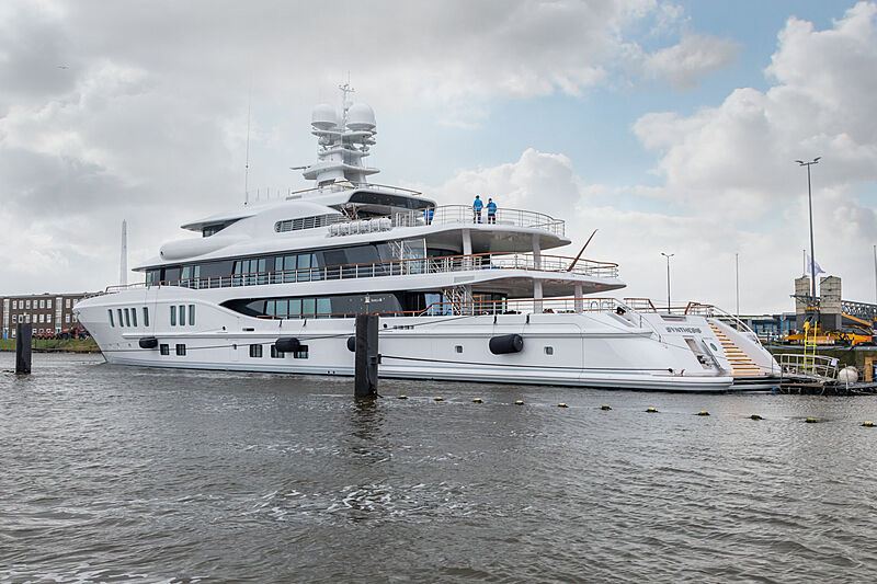 Synthesis yacht delivered