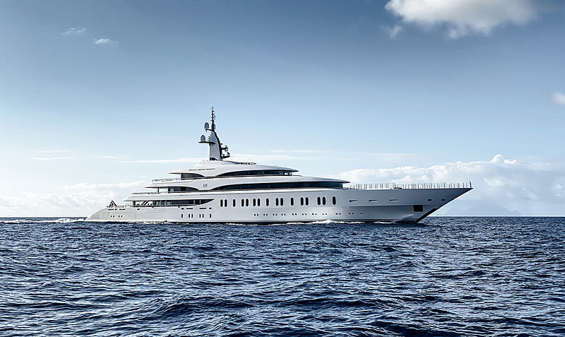 IJE yacht by Benetti in Saint Martin