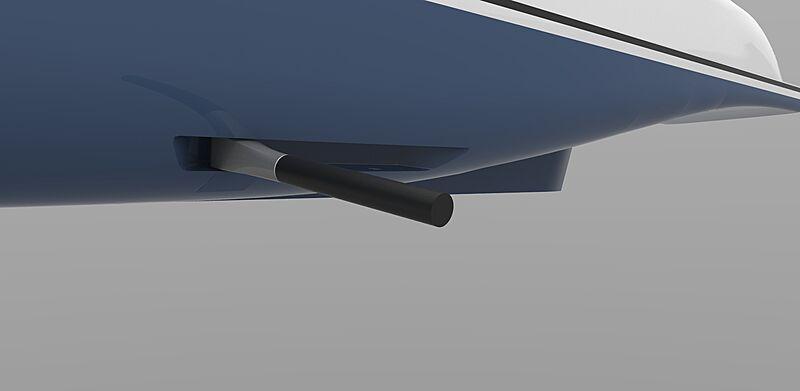 Quantum Marine MAGLift Rotor render