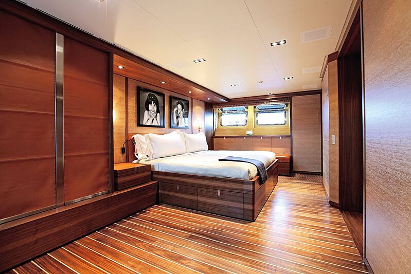State of Grace yacht stateroom