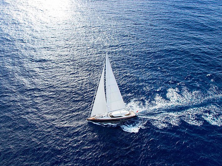 State of Grace yacht sailing
