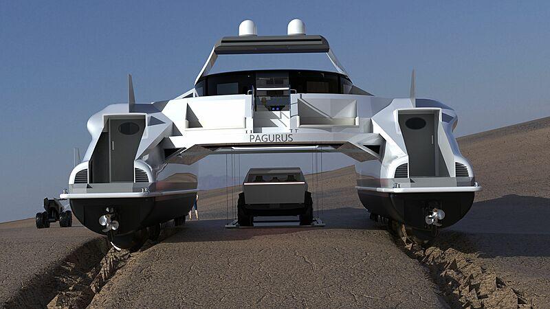 Pagarus yacht exterior design