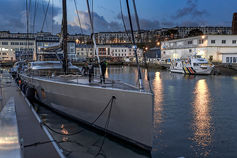 Skade yacht by Holland Jachtbouw in Brest, france