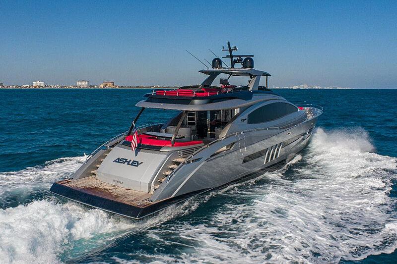 Ashley yacht cruising
