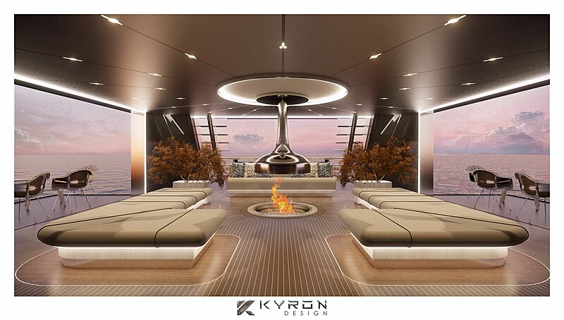 Nzuri yacht interior design