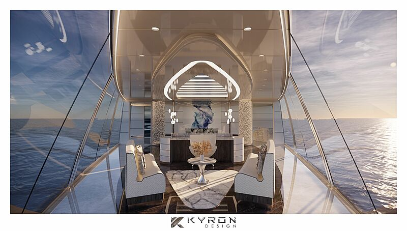 Nzuri yacht interior design