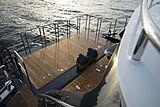 Lady Lara yacht aft deck