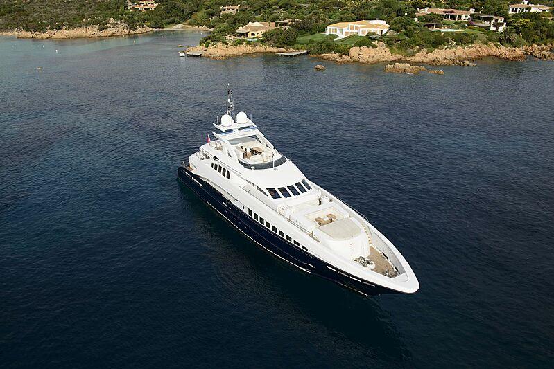 Lady Lara yacht anchored